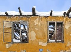 winter decay (poludziber1) Tags: city colorful cityscape color street streetphotography skyline sky blue building valjevo serbia travel urban winter snow 15challengeswinner fotocompetition fotocompetitionbronze challengeyouwinner cyunanimous