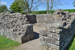 Hadrian's Wall at Banks Turrent 52a, Cumbria.