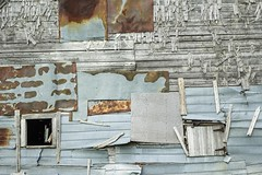Patchwork Architecture (peterwaller) Tags: patch patches wall barn architecture construction