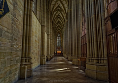 Lancing College Interior (Dave Sexton) Tags: lancing west sussex united kingdom england college chapel wide angle vaulted ceiling dxo on1 affinity photo pentax k1 samyang 14mm f28