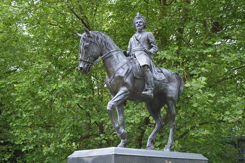 Duleep Singh on horse