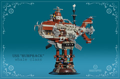 "The_Humpback-4a (Markus ""Madstopper"" Ronge) Tags: steampunk lego submarine uboot madstopper"