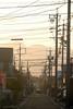 yokkaichi5156b (tanayan) Tags: urban town cityscape mie yokkaichi japan nikon j1 三重 四日市 日本 road street alley evening glow