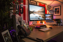 Office June 2017 (Bridge Computers) Tags: office workspace apple appleoffice macbookpro philipshuelights workshop macmini lifehacker desktop