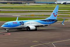 PH-TFC  737-8K5 TUI Netherlands Arke 10 jaar (Antonio Doblado) Tags: schiphol phtfc boeing b737 737 tuinetherlands tui arke 10jaar