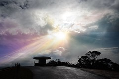 Angry sky😡 (sallygray5) Tags: lights skyscape cloudsscape landscapephotography landscape view darkclouds sunstorm storm naturephotography nature skyphotography cloudsphotography sky cloud clouds sunrays sunlight