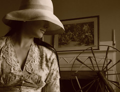 It's all about our memories (coollessons2004) Tags: krystalsmith vintage woman beauty beautiful mystery mysterious sepia