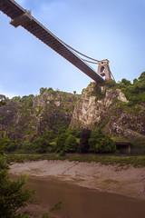 Under the bridge (L Hughesy) Tags: bristol bridge architecture water colour photograph cliff
