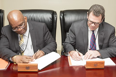 Signing: Skills Development and Employability Project