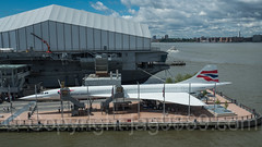 British Airways Concorde, Intrepid Sea, Air and Space Museum, New York City (jag9889) Tags: 2017 20170527 aerialview aircraft airplane britishairways concorde hudsonriver intrepid intrepidmuseum intrepidseaairandspacemuseum manhattan midtown midtownwest military museum ny nyc naval newyork newyorkcity outdoor pier86 retired river ship supersonic usa ussintrepid unitedstates unitedstatesofamerica vessel warship water waterway jag9889 us