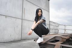 Nike ad with Reeboks on