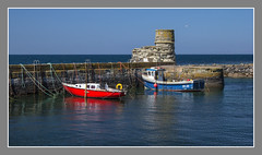 Dunure Harbour (Alistair_Images) Tags: dunure harbour ayrshire scotland canon 60d boats water coast