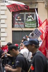 Las meninas sindicalistas (Velazquez trade unionist meninas) (David G. Boal) Tags: velázquez diegovelázquez meninas sindicalistas sindicato huelga uniontrade strike demostration manifestación madrid paseodelprado huelgaotis otis nikond610 nikon50mmf14 streetphoto fotografíacallejera