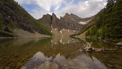 Peaceful Evening at Lake Agnes (Ken Krach Photography) Tags: lakeagnes banffnationalpark