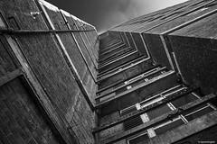 Beyond its promised life Whitechapel © (wpnewington) Tags: whitechapel slums decay grime towerblocks london monochrome bw architecture eastend