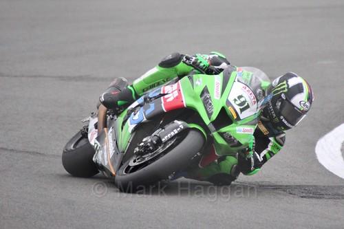 Leon Haslam in World Superbikes at Donington Park, May 2017