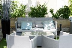 Hôtel LE GOLFE Cassis - terrasse ombragée
