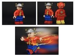 Jay Garrick (MrKjito) Tags: lego minifig super hero comics comic flash jay garrick speed minifg force mecury helmet hard water