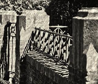 Tempête dans la grille - Storm in the fence