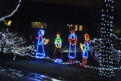 23 Carolers (megatti) Tags: buckscounty carolers christmas christmaslights pa pennsylvania shadybrookfarm yardley