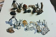 EDiM 22_17 something I collect (Jutta Richter) Tags: edim everydayinmay sketch skizze animals figure tiere schleich drawing