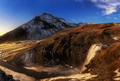 Skógafoss (Toni_pb) Tags: islandia iceland skógafoss water waterscape waterfall sky landscape nature d810 nikon nikkor1424f28 paisaje panorama panoramica pano panoramic minimalist mountain mystic seascape sea sunset