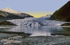 Mendenhall Glacier 96 HDR (Gillfoto) Tags: glacier mendenhall juneau alaska