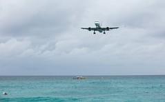 Maho-beach-landing