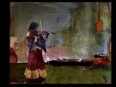 cigana (skizo39) Tags: woman roma gypsi gitana cigana violin caravan collage layers art digitalprocessing digitalart digitalpainting photomanipulation colors colorful graphical design creation artistic