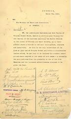 Town Clerk's Correspondence 1912 Manor Place Convenience 5 (Dunedin City Council Archives) Tags: dunedin historic toilets urinals comfort stations conveniences