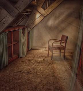 A chair of silence