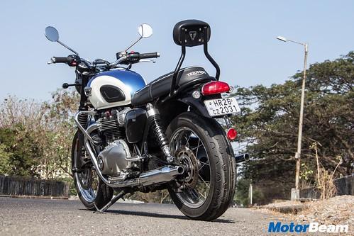 2017 Triumph Bonneville T100 Review Test Ride Motorbeam