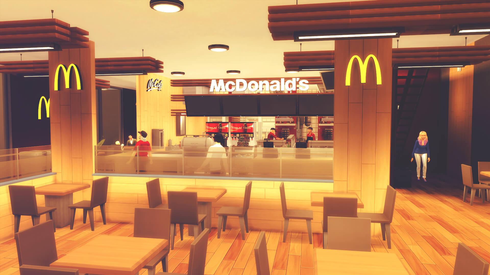 Resultado de imagen para mcdonald's restaurant