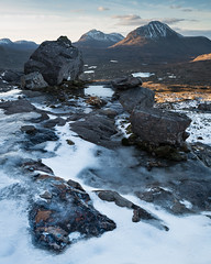 Primordial (Greg Whitton Photography) Tags: highlands landscape scotland seascape sony a7rii torridon erratic beinn eighe snow ice winter frozen epic awesome