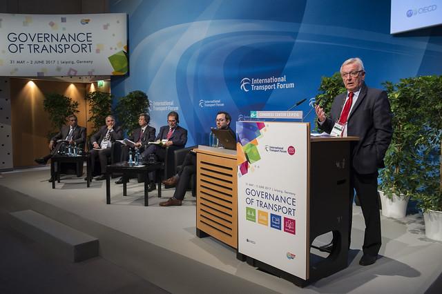 Mathieu Grosch, European Coordinator for the TEN-T Orient-East Med Corridor, European Commission speaking about transport gateways
