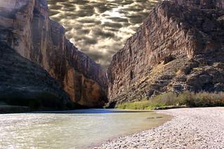 Santa Elena Canyon (Dogwood week 20 - Sky Overlay)