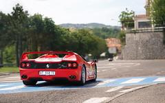 San Marino (Alex Penfold) Tags: ferrari f50 red supercars super car cars autos alex penfold 2017 mille miglia san marino italy