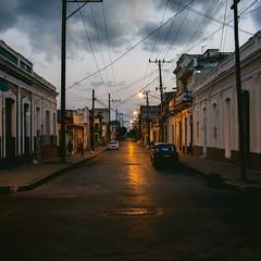 Kuba VII (jpk.) Tags: 2017 april canoneos5dmarkiv karibik kuba reise ©janphilipkopka cienfuegos sonnenuntergang stromleitungen strasenszene