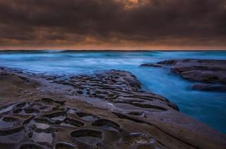 Prehistoric Coast Sunset
