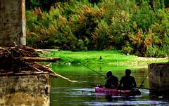 Fishermen (portalealba) Tags: zaragoza aragon españa spain ebro ranillas portalealba pentax pentaxk50 agua
