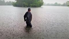 Rain (marcostetter) Tags: wet wetclothing wetclothes wetjeans wetlook wetshirt rain jeans bluejeans tinyjeans water lake landscape top20waterpix