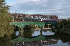 92038 - Peterborough - 1M16 (Class313) Tags: class 92 92038 1m16 peterborough nene bridge ecml east coast mainline sleeper train divert