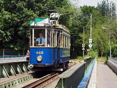 GVB 465 (jvr440) Tags: tram strassenbahn trolley amsterdam amstelveen bovenkerk ema museumtramlijn gvb 465 blauwe wagen