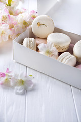 Sweet provans macaroons (lyule4ik) Tags: macaroon food biscuit cookie box flowers dessert french white above cake background bakery candy color colorful pastel top pink confectionery delicious green macaron pastry retro snack sweet vintage view closeup collection flat flavor gourmet orange sugar turquoise isolated assorted assortment chocolate coffee confection nobody tasty traditional yellow
