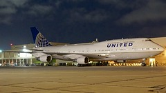 United Airlines 1999 747 N119UA c/n 28812 at SFO. 2017. (planepics43) Tags: unitedairlines unitedexpress n119ua 747 787 737 757 777 767 sfo sanfranciscoairport sfoov southwestairlines 28812 claytoneddy california landing lufthansa airport americanairlines boeing aircraft airplane aviation planes deltaairlines