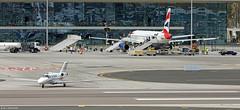 Cessna 525 CitationJet CJ1 YU-BST departing LXGB (Mosh70) Tags: lxgb yubst cessna525citationjetcj1 gibraltar gibraltarinternationalairport