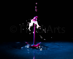 When Water Collides. (fluidarts.co.uk) Tags: waterdrop water drop collison fluidarts fluid art arts