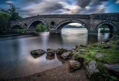 bridge (juhwie.foto - PROJECT: LEIDENSCHAFT-LICH-T) Tags: schottland scotland kenmore bridge stone lake cloud landcape pentax k1 ricohimaging pentaxart
