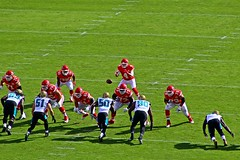 Kansas City Cheifs v Jacksonville Jaguars - Chiefs plays - 2016 (Dis da fi we (was Hickatee)) Tags: fireworks usa kansas arrow head arrowheadstadium arrowhead chief chiefs football americanfootball kansascity