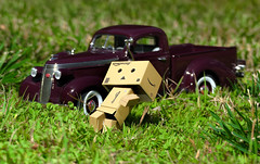 Danbo - Keep on truckin' ! (thinduck42) Tags: danbo danboard panasonic fz1000 hss toy model truck studebaker keepontruckin highspeedsync